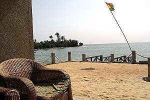 Lodge on the Beach - Ghana